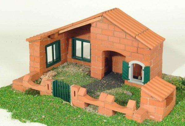 Budowle domki 5 projektów Cegiełki TEIFOC