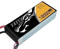 Akumulator Gens Ace: 12000mAh 14.8V 15C TATTU Gens