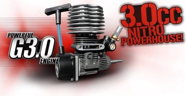 HPI RACING - Silnik z szarpanką NITRO STAR G3.0