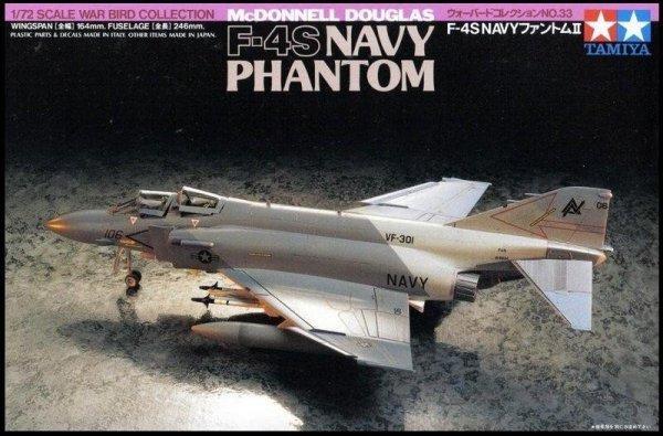 Tamiya 60733 M.D. F-4S NAVY PHANTOM 1/72