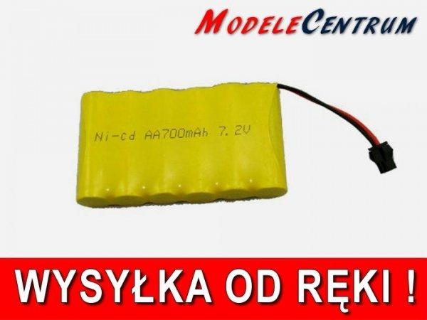 Akumulator pakiet 7,2V 700mAh  NiCd