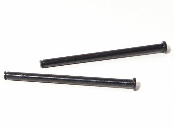 FLANGE SHAFT 4x62mm BLACK/2pcs 86071