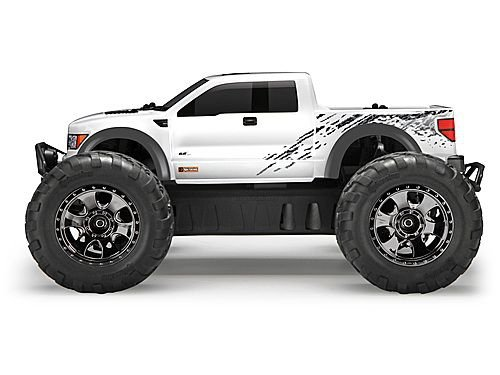 HPI SAVAGE XS FLUX RTR WITH FORD F-150 SVT RAPTOR BODY