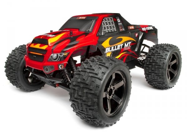 Obudowa TRIMMED & PAINTED BULLET FLUX MT BODY W/ HEX DECAL 101659
