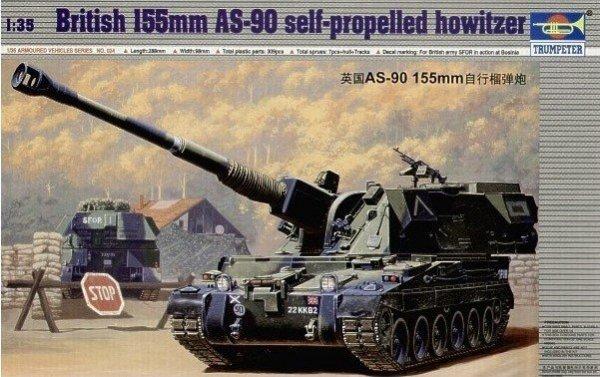 Trumpeter 00324 1/35 BRITISH 155mm SPG