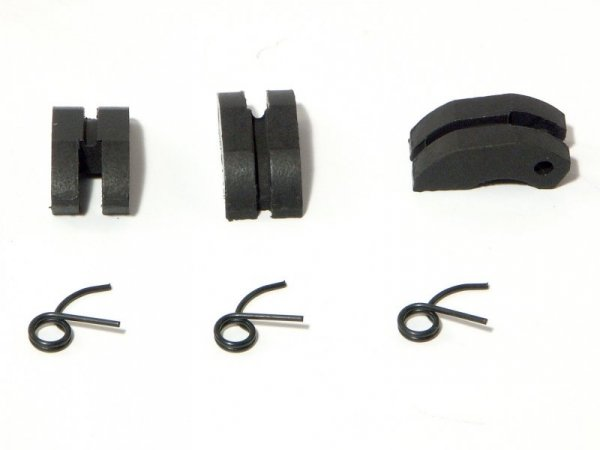 PTFE CLUTCH SHOE / SPRING SET (3pcs/ea.) 87151