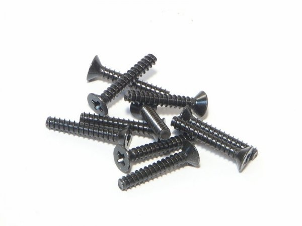 TP. FLAT HEAD SCREW M3x18mm (10pcs) Z581