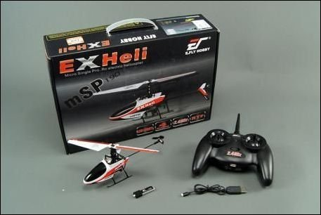 Helikopter RC  EX Heli  190 E_Fly 2,4GHz