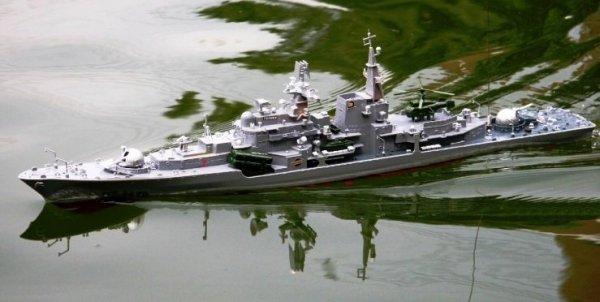 Rosyjski niszczyciel Sowriemiennyj 956A (HT-2879A) 78cm długości