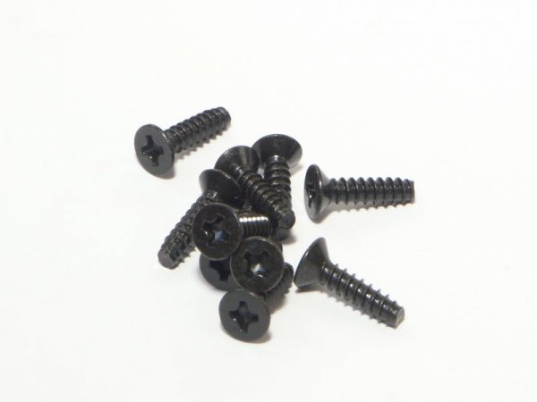 TP. FLAT HEAD SCREW M3x12mm (10pcs) Z578