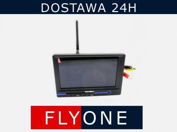 "FPV Monitor LCD 7"" 800x480 z odbiornikiem 5,8"