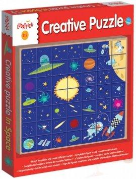 Kreatywne puzzle - W kosmosie