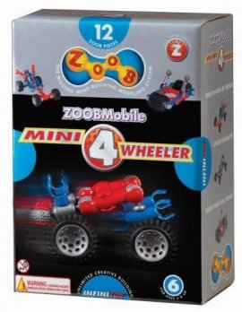Klocki Mobile Mini 4 Wheeler