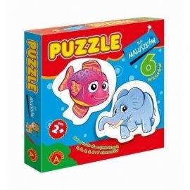 Puzzle dla maluszków Rybka