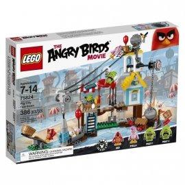 Angry Birds Demolka w Pig City