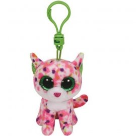 TY Beanie Boos Sophie - Różowy kot, 8.5 cm