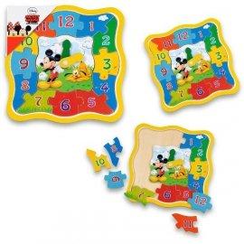 Zegar Drewniany Mickey