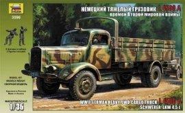 Heavy German Cargo Truck L 4500 S