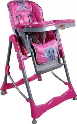 ARTI Cosmo 2 RT-002 Pink Little Elephant KRZESEŁKO DO KARMIENIA