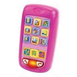 DUMEL 42038 Discover Rymujący Smartfonik PINK