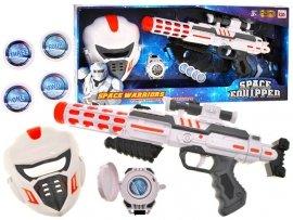 JKM ZA1202 Pistolet zestaw dla kosmicznego wojownika