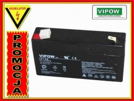 BAT0203 Akumulator żelowy VIPOW 6V 1.3Ah