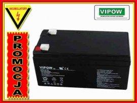 BAT0219 Akumulator żelowy VIPOW 12V 3.3Ah