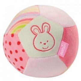 FEHN FE099393 Mała piłka z grzechotką - Zajączek - kolekcja Bubb