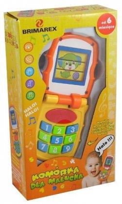 Telefon dla malucha z dźwiękami