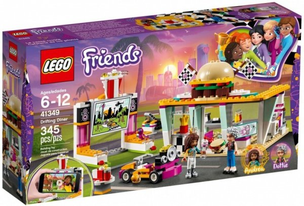 LEGO Polska Friends Wyścigowa restauracja