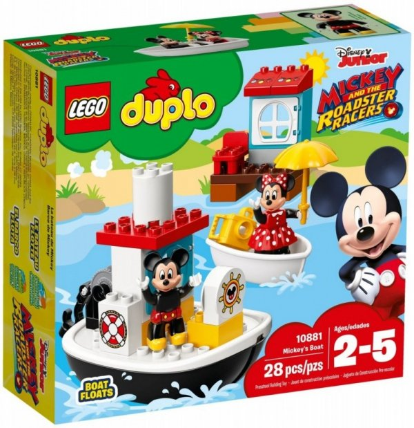 LEGO Polska DUPLO Disney TM łódka Mikiego