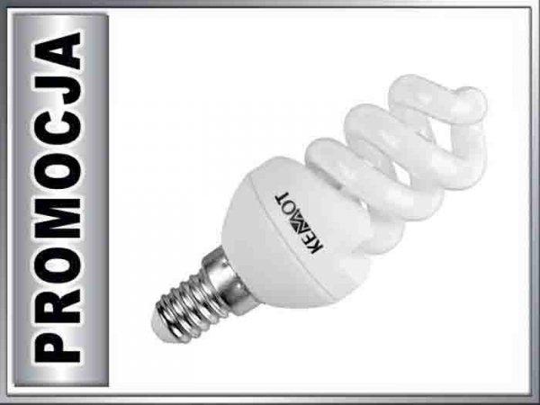 ZAR0284 Lampa fluorescencyjna E14 7W