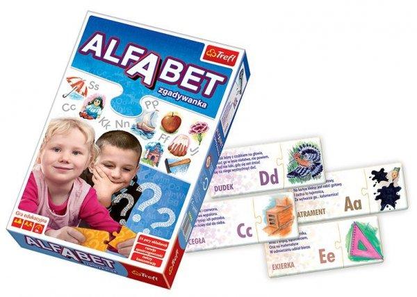 TREFL 00668 ALFABET ZGADYWANKA Gra