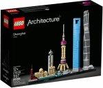 LEGO ARCHITECTURE SZANGHAJ 21039 12+