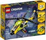 LEGO CREATOR PRZYGODA Z HELIKOPTEREM 31092 6+