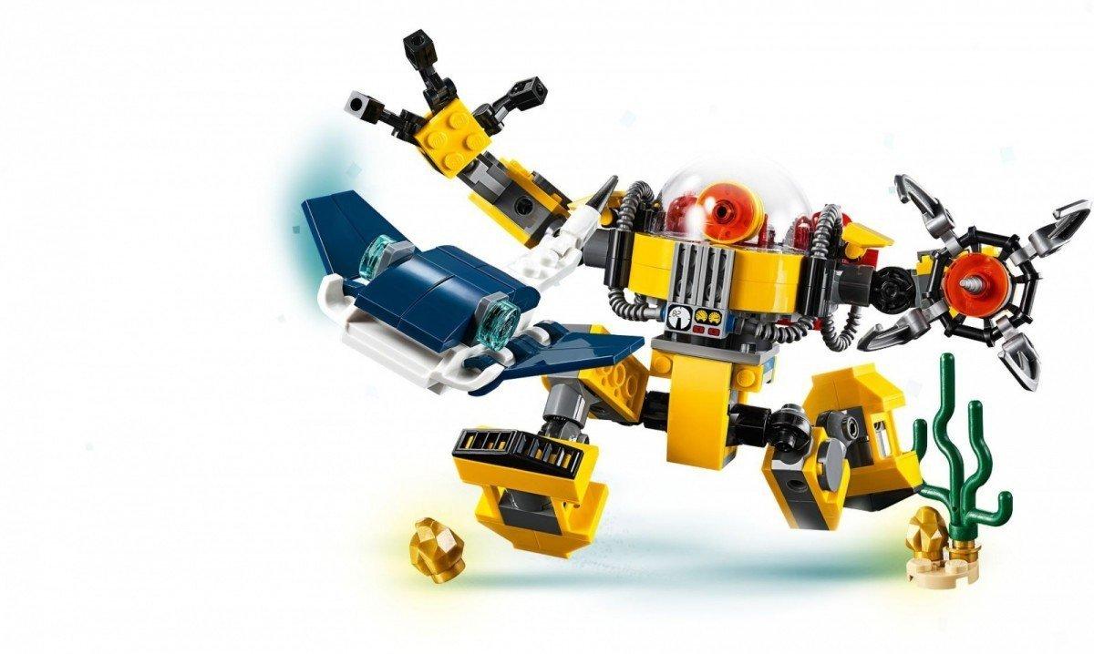 Lego Creator Podwodny Robot 31090 7 Creator Lego Malakopl