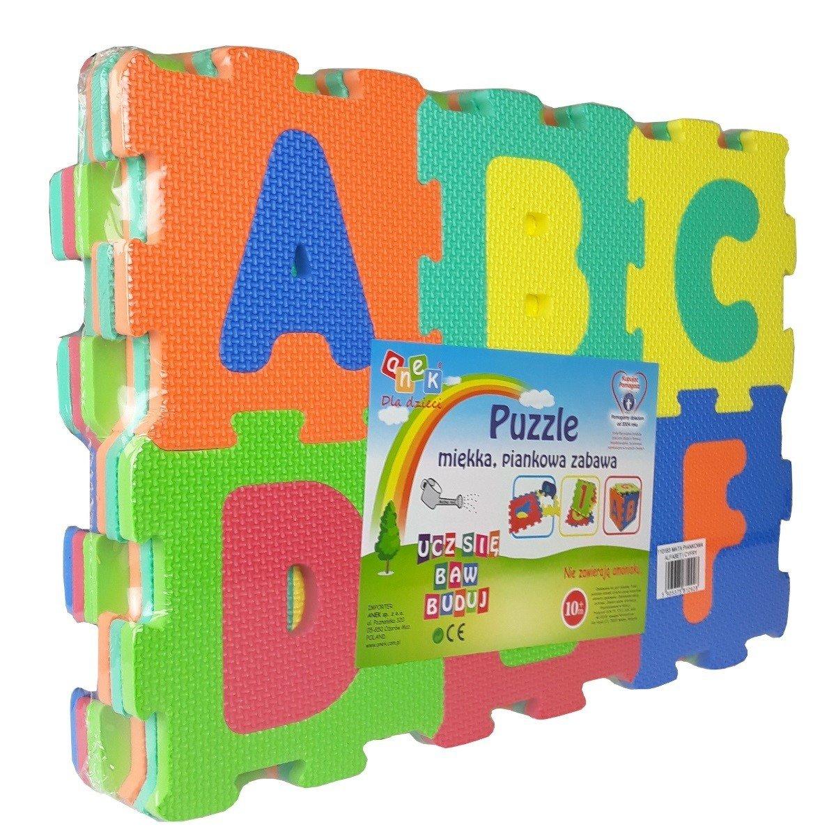 Anek Mata Piankowa Alfabet I Cyfry Puzzle Piankowe 36 El 10m