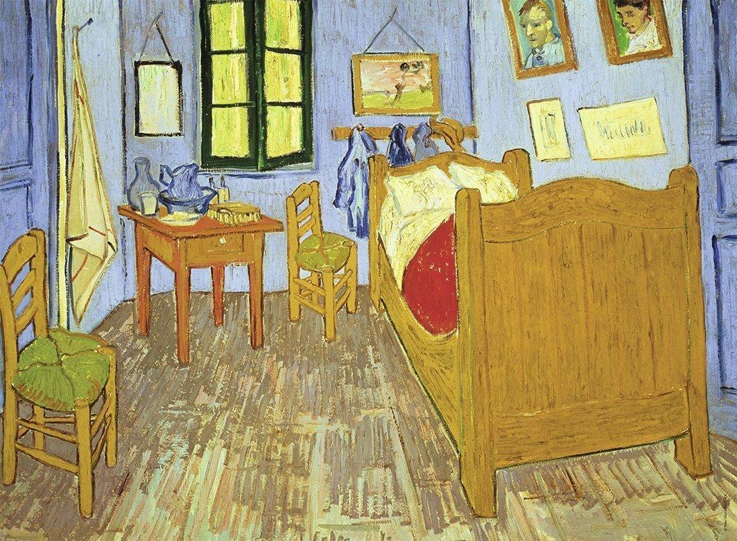 Ravensburger 300 El Xxl Vincent Van Gogh Sypialnia Puzzle 10