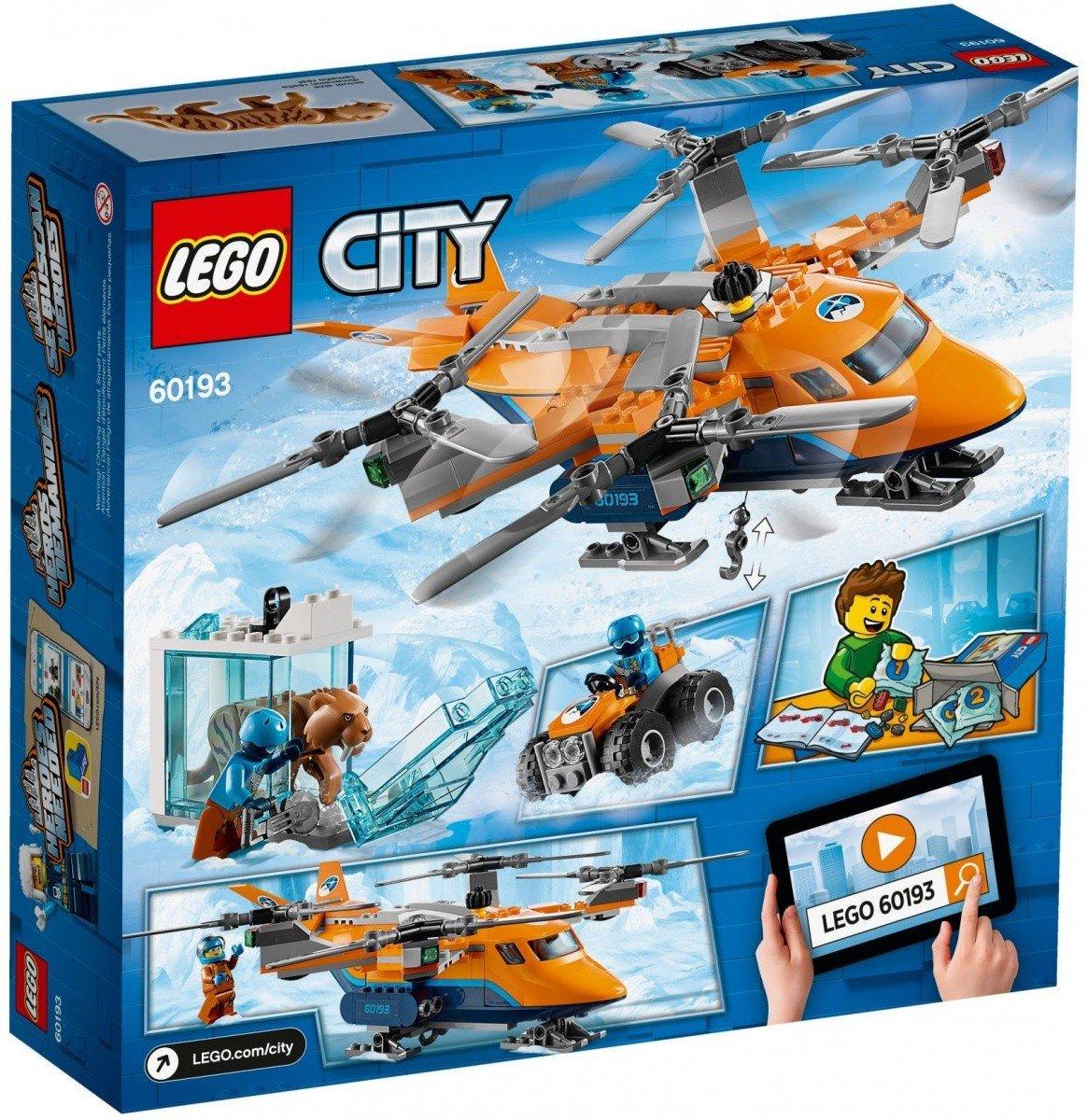 Lego City Arktyczny Transport Powietrzny 60193 6 City Lego