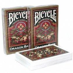 BICYCLE KARTY GOLD DRAGON BACK 18+