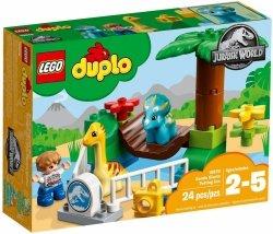 LEGO DUPLO JURASSIC WORLD MINIZOO ŁAGODNE OLBRZYMY 10879 2+