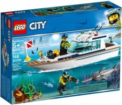 LEGO CITY JACHT 60221 5+