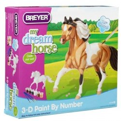 BREYER Pinto koń do malo wania