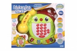 ARTYK E-EDU EDUKACYJNY TELEFON SOWA 18M+