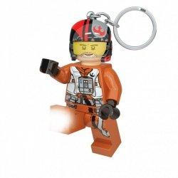 LEGO BRELOK - LATARKA STAR WARS - POE DAMERON 7CM 6+