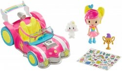 MATTEL BARBIE VIDEO GAME HERO POJAZD + MINI FIGURKI W ŚWIECIE GIER 	DTW18 3+