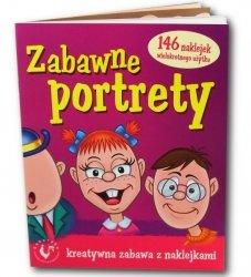 AMI PLAY KSIĄŻKA ZABAWNE PORTRETY 3+
