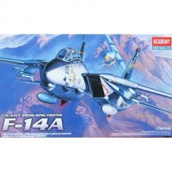 ACADEMY U.S. NAVY SWINGWINGTOMCAT F-14A 12471 SKALA 1:72