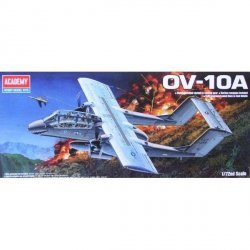 ACADEMY OV-10A BRONCO SKALA 1:72 8+