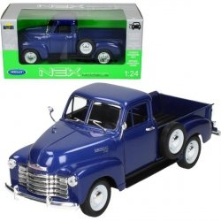 WELLY CHEVROLET 3100 PICK UP 1953 NIEBIESKI SKALA 1:24